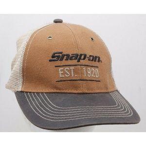 Snap-on Tools EST 1920 Trucker Hat Size Adjustable